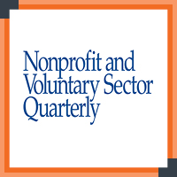 Nonprofit and Voluntary Sector Quarterly is a nonprofit professional development resource that provides a forum for research in a variety of disciplines.