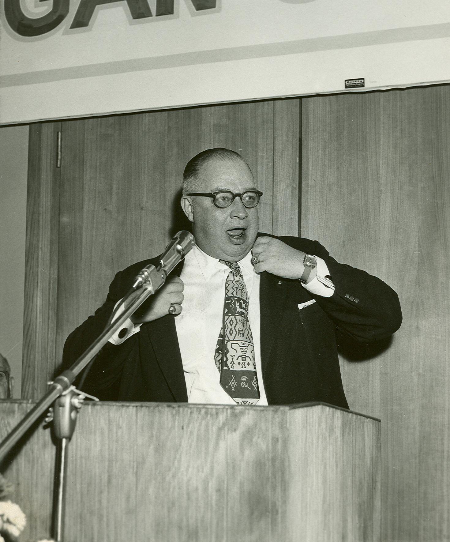 H. Roe Bartle Speaking