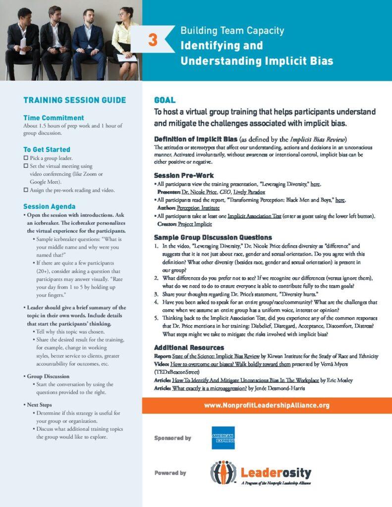 Identifying and Understanding Implicit Bias