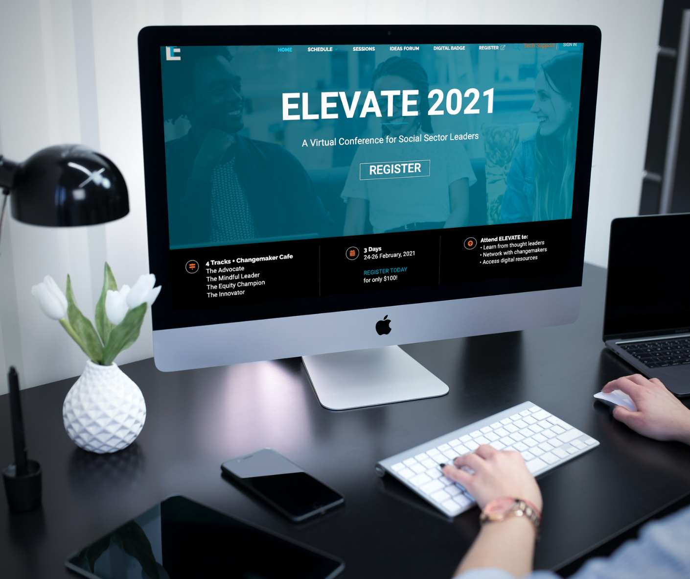 Elevate 2021 Virtual Social Sector Leader Conference