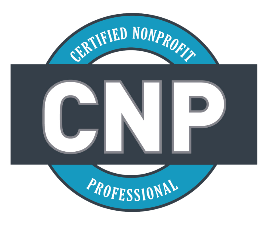 Certified Nonprofit Professional credential logo